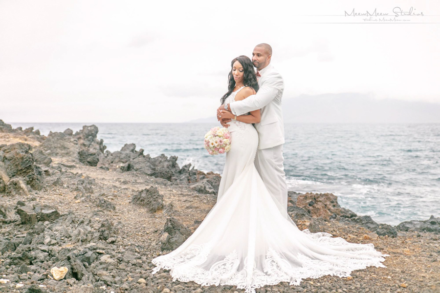 Private Estate Maui Wedding: Felana + Jurunner