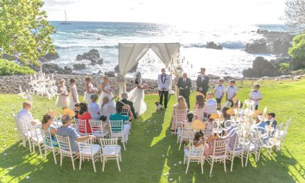 Blush + White Glam Wedding at the Kukahiko Estate
