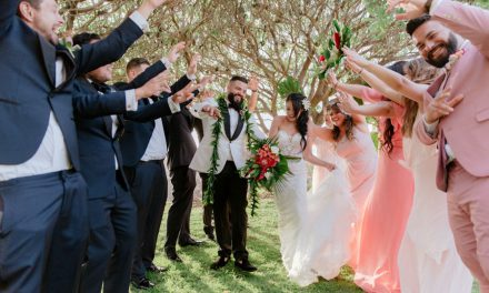 Modern Tropical Maui Wedding at the Kukahiko Estate