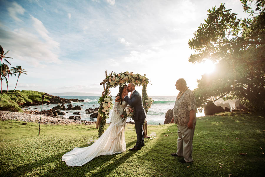 Romantic Maui Elopement