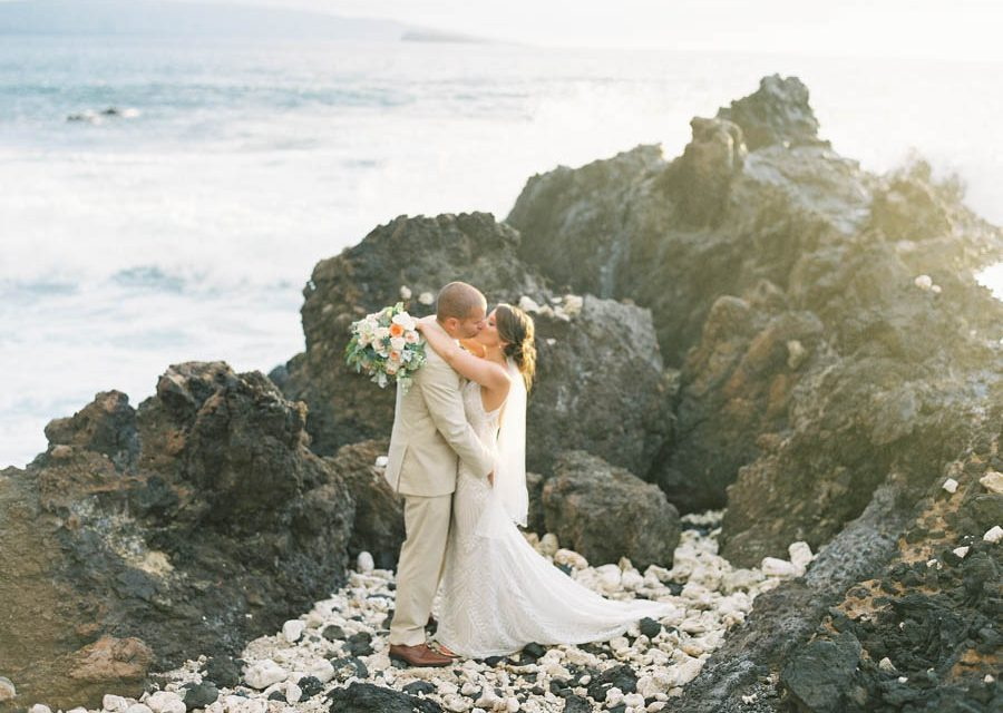Coral Maui Wedding at the Kukahiko Estate